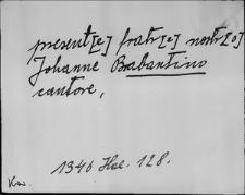 Kartoteka Słownika staropolskich nazw osobowych; Br - Bu