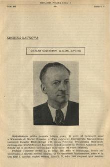 Marian Gieysztor 22.II.1901-5.VI.1961