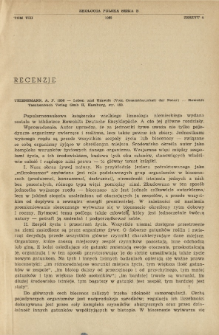 Thienemann, A. F. 1956 - Leben und Umwelt (Vom Gesamthaushalt der Natur) - Rowohlt Taschenbuch Verlag Gmb H, Hamburg, str. 153.