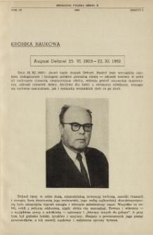 August Dehnel 25.VI.1903-22.XI.1962