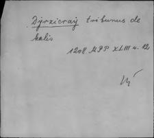Kartoteka Słownika staropolskich nazw osobowych; Dzi(e)rż - Dzis