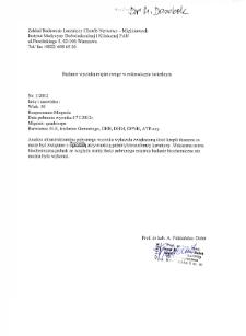 Kartoteka przypadków klinicznych chorób nerwowo-mięśniowych (2012) - opis 1/12