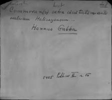 Kartoteka Słownika staropolskich nazw osobowych; Gab - Gal