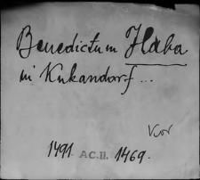 Kartoteka Słownika staropolskich nazw osobowych; Hab - Hag