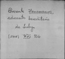 Kartoteka Słownika staropolskich nazw osobowych; Hen - Her