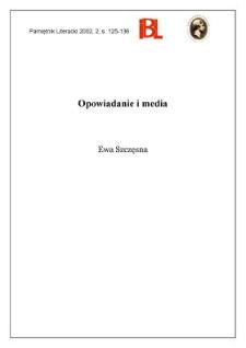 Opowiadanie i media