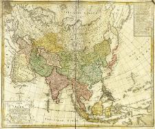 Charte von Asien nach den bewährtesten astronomischen Beobachtungen, den neusten Reisen und und den vorzüglichsten Charten insonderheit aber der Geographie des Hrn I. C. Gatterers