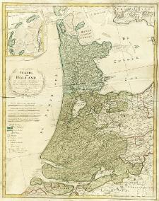 Charte von Holland nach astronomischen Beobachtungen, den Messungen des Schnellius &cc. und den vorzüglichsten Specialcharten