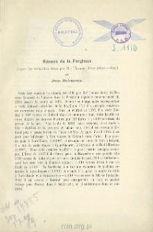 Oiseaux de la Ferghana d'apres les recherches faites par M-r Thomas Barey (1892 — 1895)