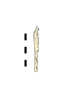 knife, iron, fragment