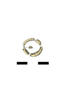 pierścionek, szklany