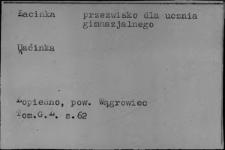 Przezwiska i przydomki ludowe XIX i XX w.; L-1