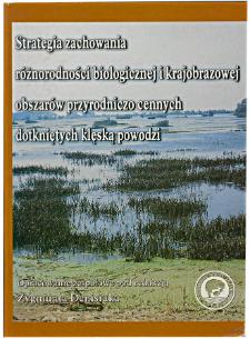 Transport zanieczyszczeń w czasie powodzi w 1997 roku w dolinie Odry