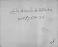 Kartoteka Słownika staropolskich nazw osobowych; Hub - Hyr