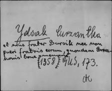 Kartoteka Słownika staropolskich nazw osobowych; Icak - Ilko