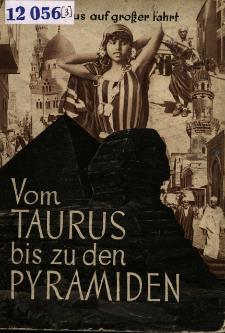 Peregrinus auf großer Fahrt. 3, Vom Taurus bis zu den Pyramiden.
