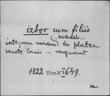 Kartoteka Słownika staropolskich nazw osobowych; Izbo - Jab