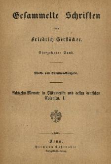 Achtzehn Monate in Südamerika und dessen deutschen Colonien. Bd. 1