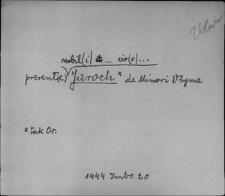 Kartoteka Słownika staropolskich nazw osobowych; Jar - Jas
