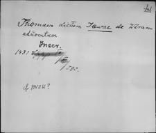 Kartoteka Słownika staropolskich nazw osobowych; Jaw - Jaz