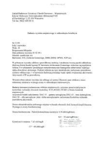Files for neuromuscular diseases (2009) - nr 51/09