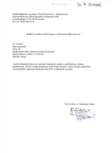 Kartoteka przypadków klinicznych chorób nerwowo-mięśniowych (2012) - opis 8/12