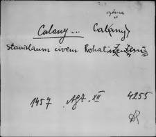 Kartoteka Słownika staropolskich nazw osobowych; Kal - Kam