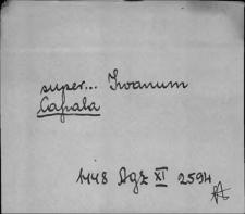 Kartoteka Słownika staropolskich nazw osobowych; Kap - Kar