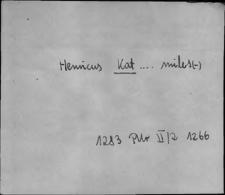 Kartoteka Słownika staropolskich nazw osobowych; Kat - Kaz