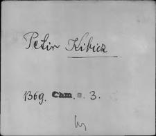 Kartoteka Słownika staropolskich nazw osobowych; Ki - Kl