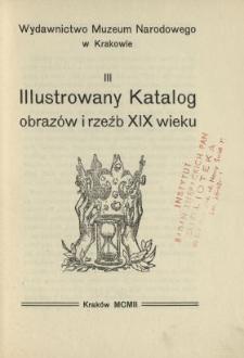 Illustrowany katalog obrazów i rzeźb XIX wieku