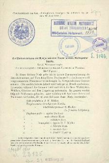 Zur Cladocerenfauna des Nowgorodischen Gouvernements (Waldayscher Bezirk)