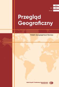 Przegląd Geograficzny T. 92 z. 1 (2020), Spis treści
