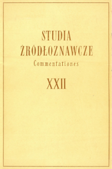 Miracula średniowieczne jako źródło do badań nad mentalnością społeczną w Polsce i jej przemianami pod wpływem kolonizacji niemieckiej