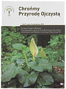 Nowe stanowiska dwulistnika muszego Ophrys insectifera w Tatrzańskim Parku Narodowym