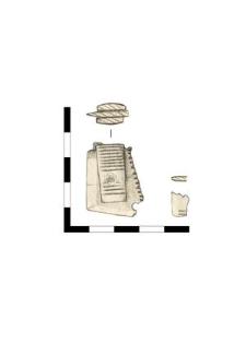 grzebień rogowy, fragment