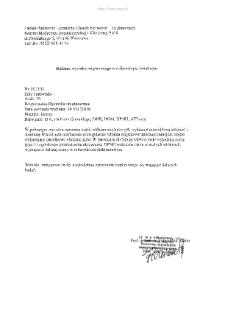 Kartoteka przypadków klinicznych chorób nerwowo-mięśniowych (2010) - opis nr 18/10