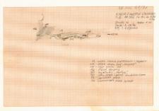 KZG, VI 302 A C, profil archeologiczny N wykopu (szkic)