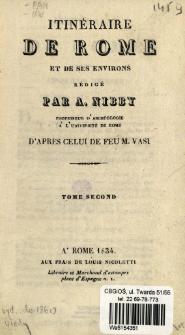 Itinéraire de Rome et de ses environs. T. 2