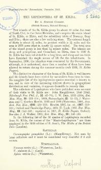 The Lepidoptera of St. Kilda