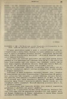 Recenzje. Nauwerck, A. 1963 - Die Beziehungen zwischen Zooplankton und Phytoplankton im See Erken - Symb. bot. Upsaliens. 17: 1-163 str. 61 rys. 21 tab.