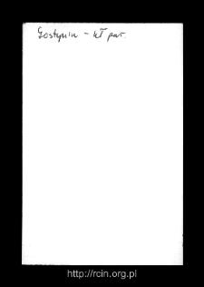 Gostynin. Kartoteka powiatu gostynińskiego w średniowieczu. Kartoteka Słownika historyczno-geograficznego Mazowsza w średniowieczu