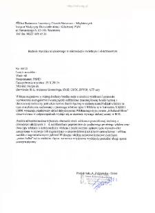Kartoteka przypadków klinicznych chorób nerwowo-mięśniowych (2013) - opis nr 44/13