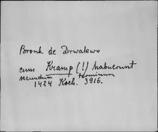 Kartoteka Słownika staropolskich nazw osobowych; Krą - Kre