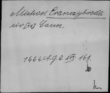 Kartoteka Słownika staropolskich nazw osobowych; Krę - Kro