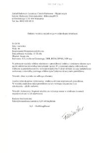 Kartoteka przypadków klinicznych chorób nerwowo-mięśniowych (2008) - opis nr 26/08
