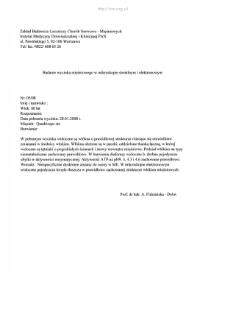 Kartoteka przypadków klinicznych chorób nerwowo-mięśniowych (2008) - opis nr 5/08