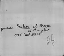 Kartoteka Słownika staropolskich nazw osobowych; Kru - Kry