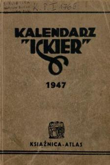 """Kalendarz """"Iskier"""" : na rok 1947 Cz.2"""
