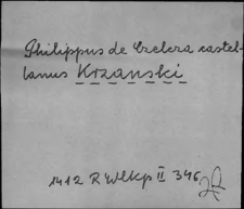 Kartoteka Słownika staropolskich nazw osobowych; Krz - Krzyb